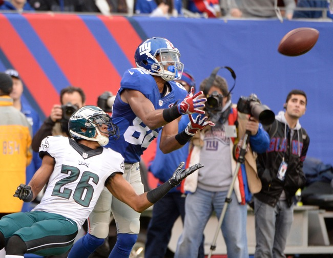 Rueben Randle, New York Giants (December 28, 2014)
