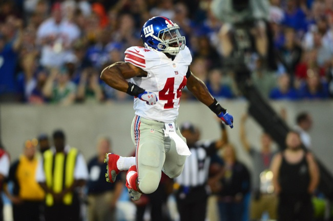 Andre Williams, New York Giants (August 3, 2014)
