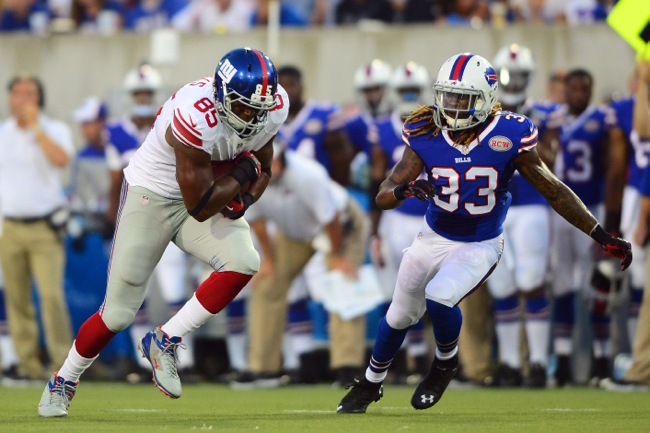 Daniel Fells, New York Giants (August 3, 2014)