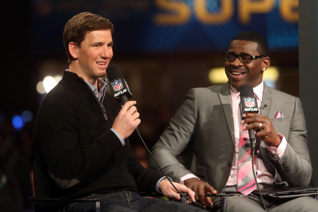 Eli Manning, New York Giants (January 29, 2014)