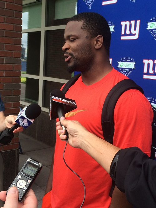 Jameel McClain, New York Giants (June 5, 2014)