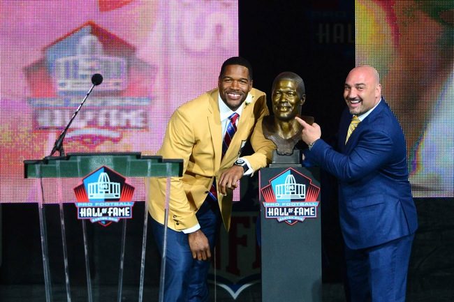 Michael Strahan, New York Giants (August 2, 2014)