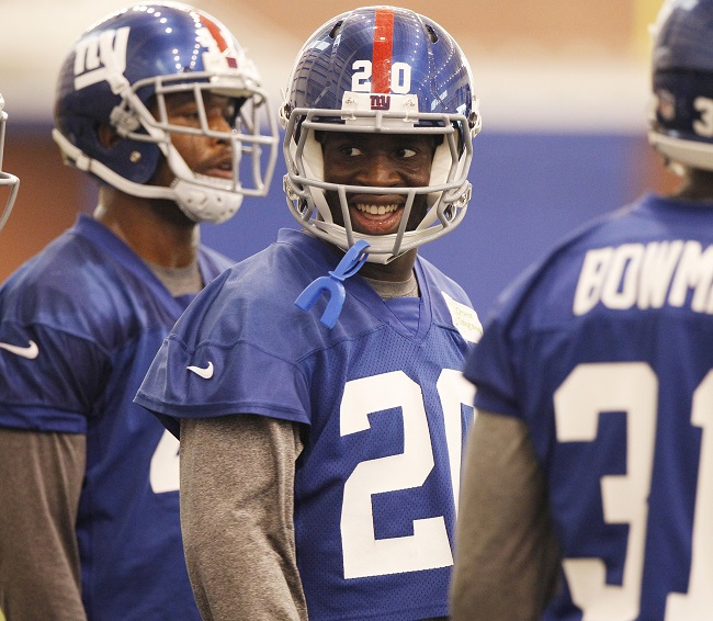 Prince Amukamara, New York Giants (June 12, 2014)