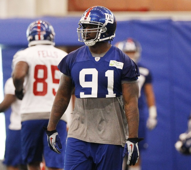 Robert Ayers, New York Giants (June 12, 2014)