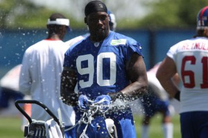 Jason Pierre-Paul, New York Giants (June 18,2014)