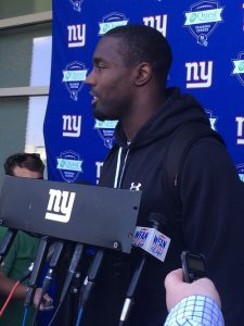 Stevie Brown, New York Giants (May 29, 2014)