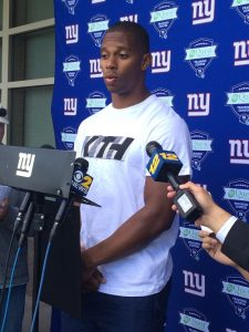 Victor Cruz, New York Giants (May 29, 2014)