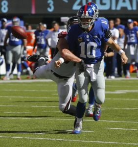 Eli Manning, New York Giants (September 20, 2015)