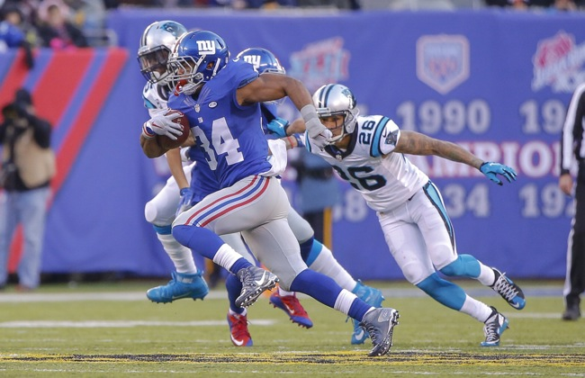 Shane Vereen, New York Giants (December 20, 2015) 2