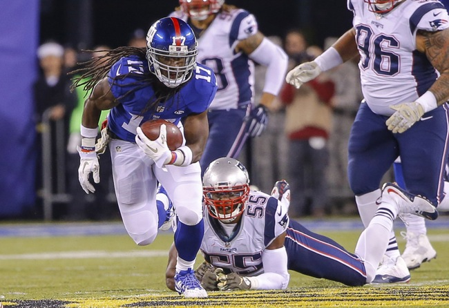 Dwayne Harris, New York Giants (November 15, 2015)