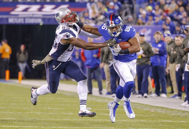 Jerome Cunningham, New York Giants (November 15, 2015)