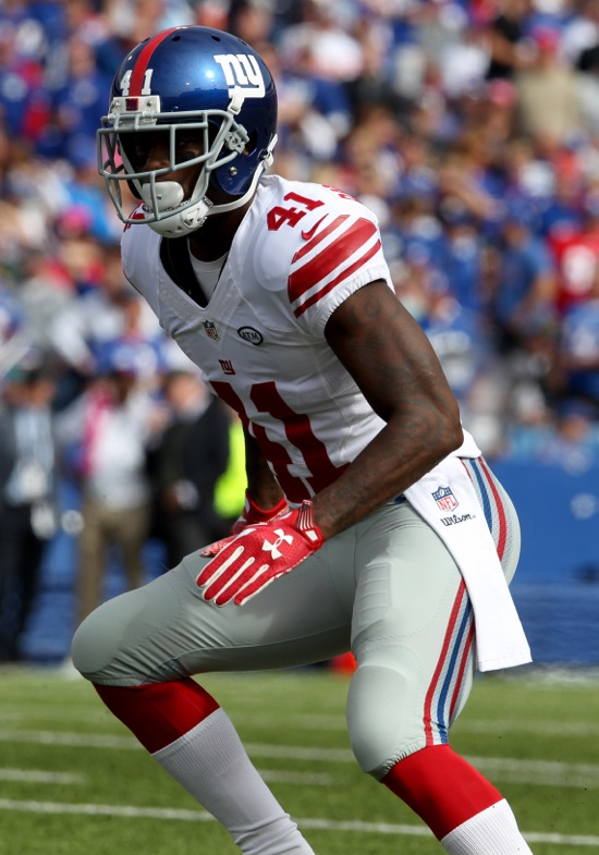 Dominique Rodgers-Cromartie, New York Giants (October 4, 2015)