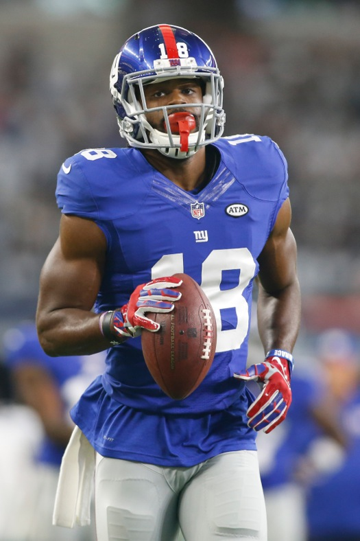 Geremy Davis, New York Giants (September 13, 2015)