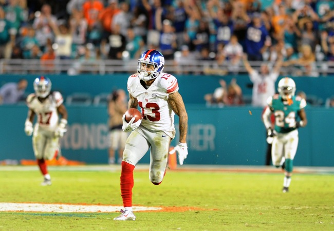 Odell Beckham, New York Giants (December 15, 2015)