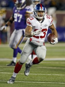 Rashad Jennings, New York Giants (December 27, 2015)