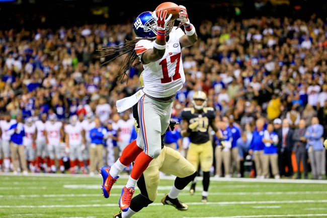 Dwayne Harris, New York Giants (November 1, 2015)