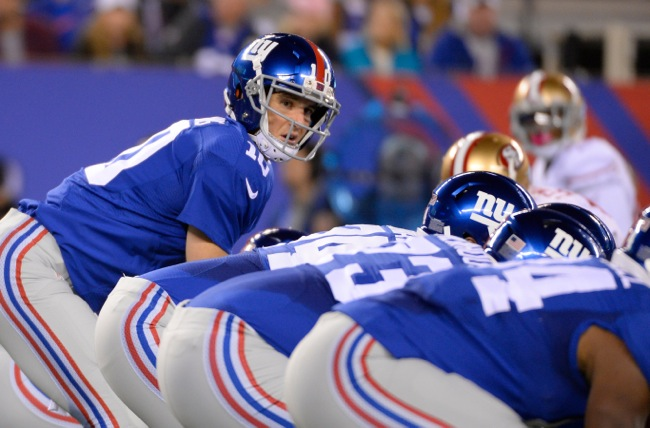 Eli Manning, New York Giants (October 11, 2015)