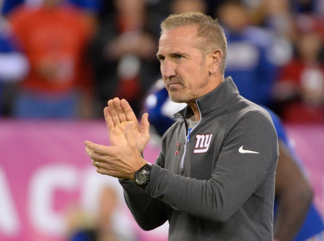 Steve Spagnuolo, New York Giants (October 11, 2015)