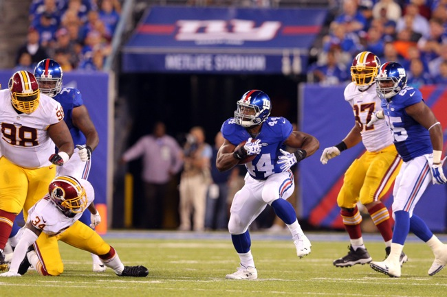 Andre Williams, New York Giants (September 24, 2015)