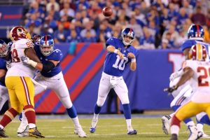 Eli Manning, New York Giants (September 24, 2015)