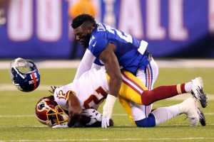 Landon Collins, New York Giants (September 24, 2015)
