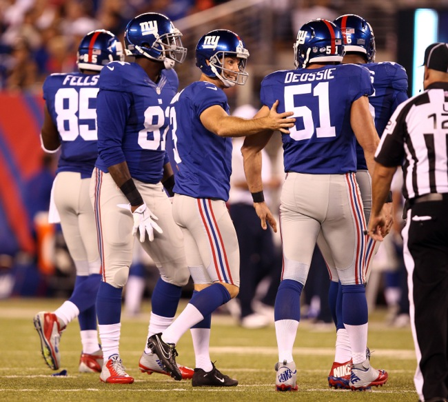Josh Brown, New York Giants (August 22, 2015)