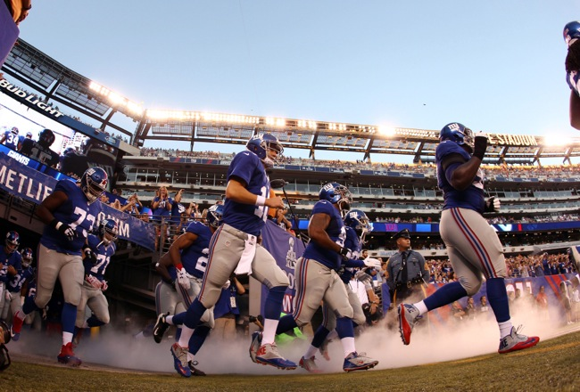 New York Giants (August 22, 2015)