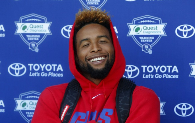 Odell Beckham, New York Giants (July 31, 2015)