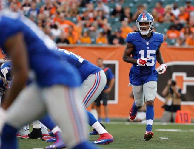 Preston Parker, New York Giants (August 14, 2015)