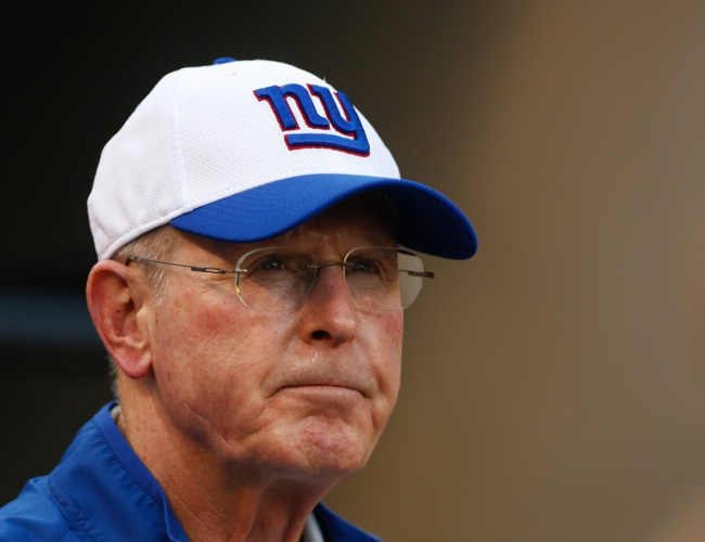 Tom Coughlin, New York Giants (August 14, 2015)