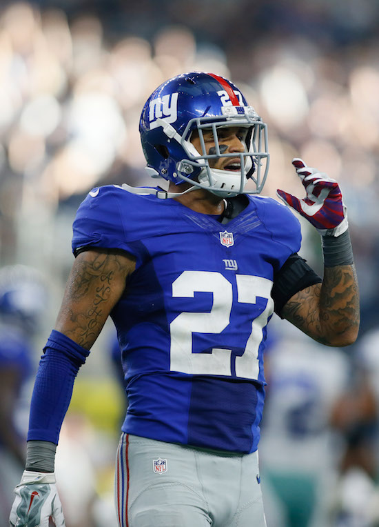 Darian Thompson, New York Giants (September 11, 2016)