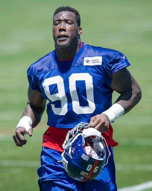 Jason Pierre-Paul, New York Giants (June 15, 2016)