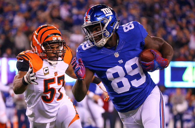Jerell Adams, New York Giants (November 14, 2016)