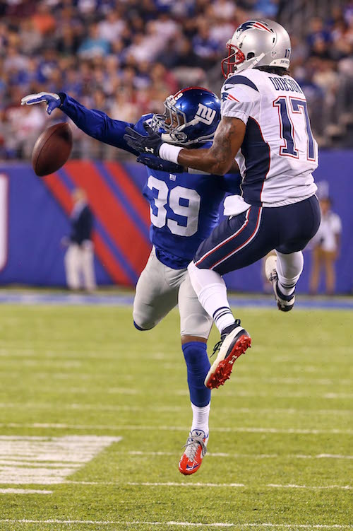 Michael Hunter, New York Giants (September 1, 2016)