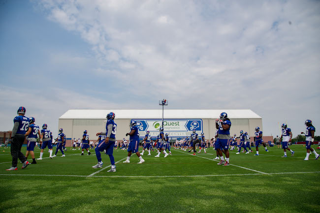New York Giants Training Camp (July 30, 2016)