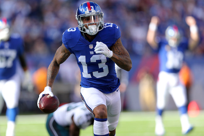 Odell Beckham, New York Giants (November 6, 2016)