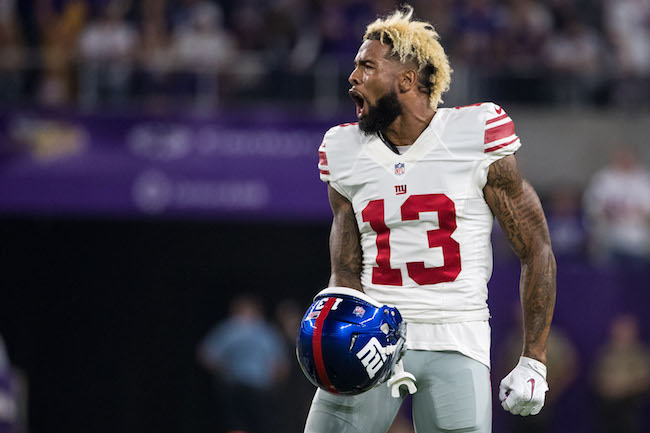 Odell Beckham, New York Giants (October 3, 2016)