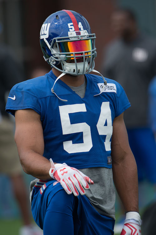 Olivier Vernon, New York Giants (July 30, 2016)