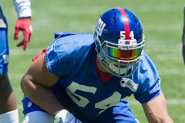 Olivier Vernon, New York Giants (June 15, 2016)