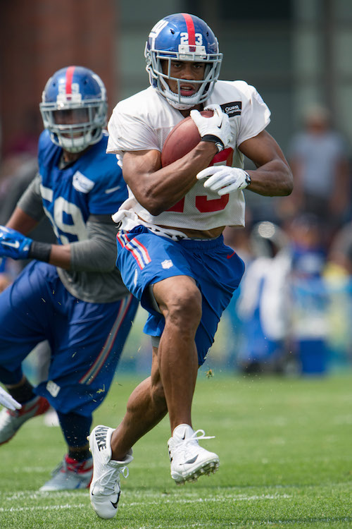 Rashad Jennings, New York Giants (July 30, 2016)