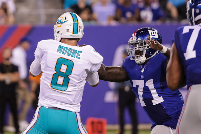 Stansly Maponga, New York Giants (August 12 2016)