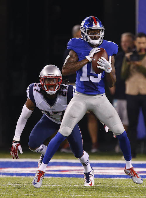 Tavarres King, New York Giants (September 1, 2016)