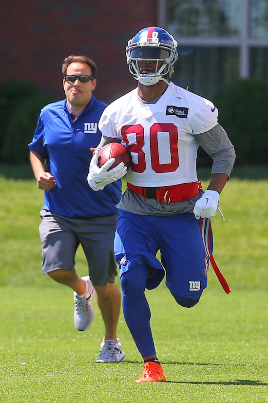 Victor Cruz, New York Giants (June 6, 2016)