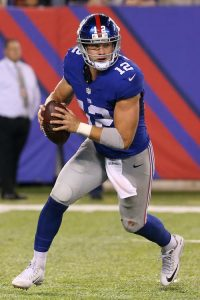 Ryan Nassib, New York Giants (September 1, 2016)